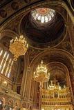 里面在蒂米什瓦拉正统大教堂里 免版税图库摄影