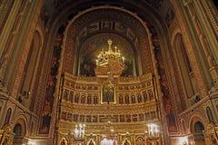 里面在蒂米什瓦拉正统大教堂2里 图库摄影