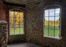 里面大地主的城堡 库存照片