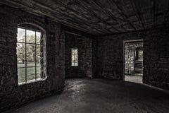 里面大地主的城堡 免版税库存图片
