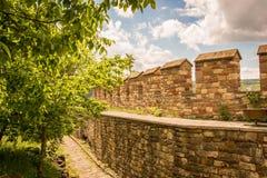 里面大特尔诺沃城堡 免版税库存照片