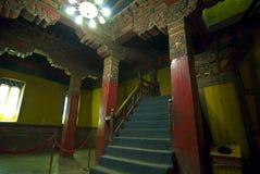 里面宫殿potala藏语 库存照片