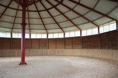 里面小牧场的看法竞技场 库存图片