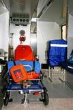 里面救护车 库存照片