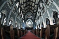 里面教会 免版税库存照片
