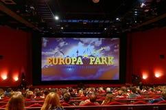 里面欧罗巴公园戏院 免版税库存图片
