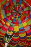 里面气球 免版税库存图片