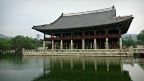 里面汉城宫殿 库存照片