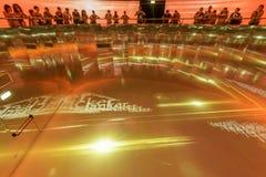 里面泰国亭子05,商展2015年米兰 免版税库存照片