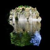 里面洞穴 免版税库存图片