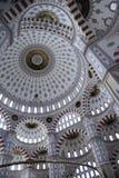 里面清真寺sabanc火鸡 库存图片