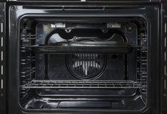 里面烤箱视图 免版税库存照片