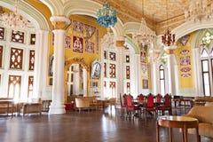 里面班格洛宫殿 库存图片