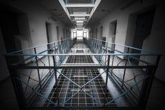 里面监狱 库存图片