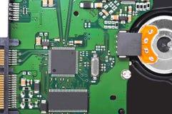 里面硬盘驱动器 免版税库存图片