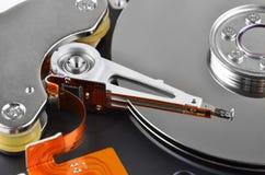 里面硬盘驱动器 库存图片