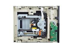 里面磁盘驱动器dvd 免版税库存图片