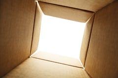 里面箱子 免版税库存照片