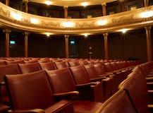 里面老剧院 免版税库存图片