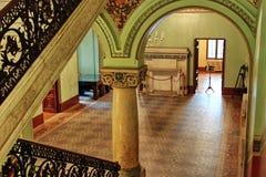 里面老城堡 免版税图库摄影