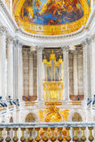 里面著名皇家教堂 图库摄影