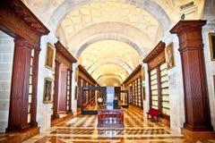 里面西印度群岛综合档案馆在塞维利亚,西班牙。 免版税库存照片