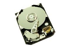 里面计算机光盘 库存照片