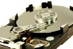 里面计算机光盘 图库摄影
