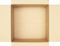 里面配件箱纸盒 免版税图库摄影
