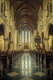 里面雅加达大教堂 免版税库存图片