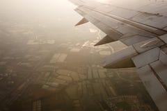 里面飞机 免版税库存照片