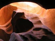 里面9只羚羊峡谷 库存图片
