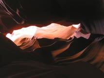 里面9只羚羊峡谷 免版税库存照片