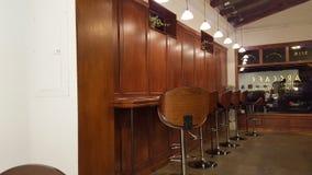 里面ARS咖啡馆和Gelato 库存照片