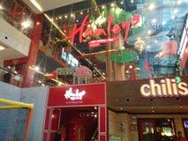 里面dlf购物中心在德里 库存图片