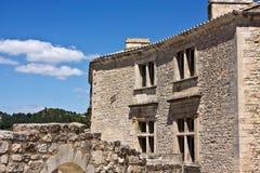 里面Les Baux de普罗旺斯 库存图片
