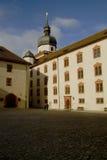 里面Marienberg堡垒(城堡),维尔茨堡,拜仁,德国 图库摄影