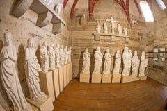 里面St Marys教会 图库摄影