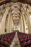 里面St Marys教会 免版税库存图片