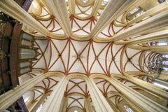 里面St Marys教会 免版税库存照片