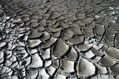 重创的泥里约 免版税库存图片