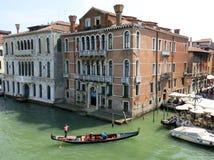重创的运河,威尼斯 免版税库存照片