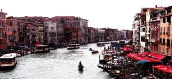 重创的运河 免版税图库摄影