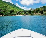 重创的Ilha -里约热内卢 免版税图库摄影