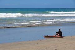 重创的Playa, Nicoya半岛,哥斯达黎加 免版税图库摄影