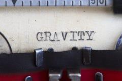 重力 免版税库存图片