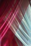 重叠的丝绸帷幕 免版税库存照片