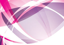 重叠粉红色 免版税库存照片