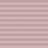 重复与在灰色,蓝色和桃红色颜色的几何现代时髦的纹理 库存照片