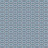 重复与在灰色,蓝色和桃红色颜色的几何现代时髦的纹理 免版税图库摄影